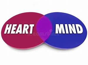 Heart Vs Mind Stock Illustration  Illustration Of Behavior