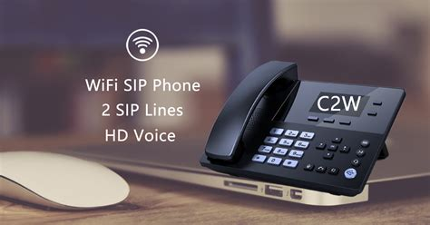wifi sip phone cw voptech