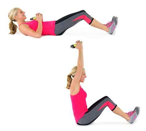 kettlebell sit press core crunches prescription fever got training skinnymom workout