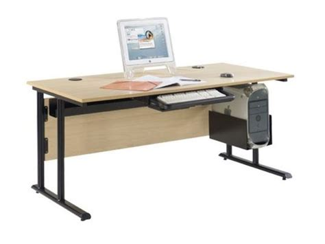bureau professeur bureau informatique de professeur 160x80 cm direct