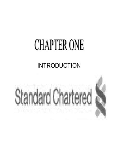 Standard Chartered Bank | Cheque | Banks