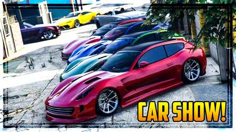 Gta 5 Online 'finance & Felony' Car Show! New Super