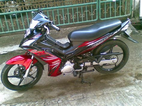Modif Jupiter Mx Warna Merah by Modifikasi Jupiter Mx Warna Hitam Thecitycyclist