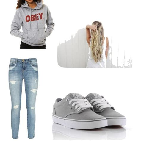 Casual School Outfit... I hope I have alot of lazy days like this... Sweatshirt(eagles ball) ufe0f ...
