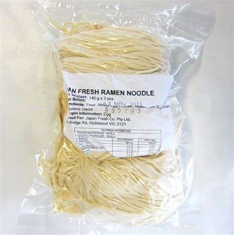 ichiba junction japan fresh ramen noodles gxpcs