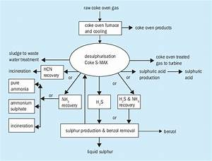 Coke Oven Gas Block Flow Diagram