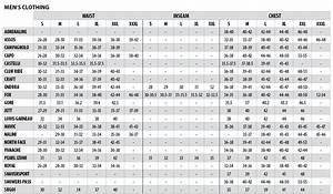 Sock Size Conversion Chart The Colorado Cyclist Shop For Bicycles Bike Parts And