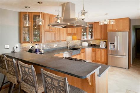 u shaped kitchen designs with peninsula kitchen remodel nest designs llc 9514