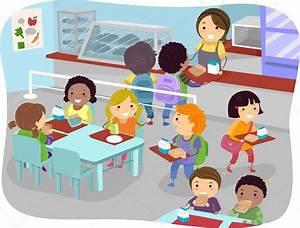 Canteen Kids — Stock © lenmdp
