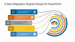 5 Step Infographic Design Diagram For Powerpoint
