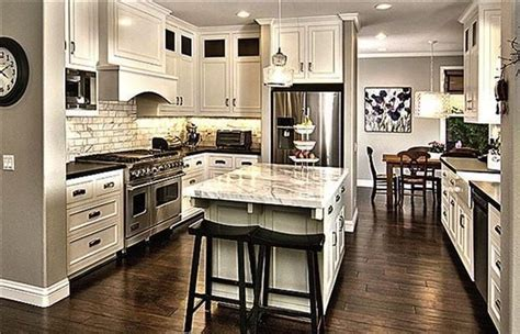 kitchens with wood floors musely 8786