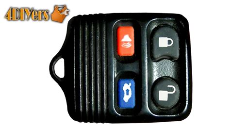 batterie ford diy ford keyless remote battery replacement disassembly