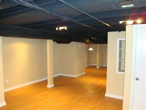 Exposed Basement Ceiling Ideas Darker Jeffsbakery