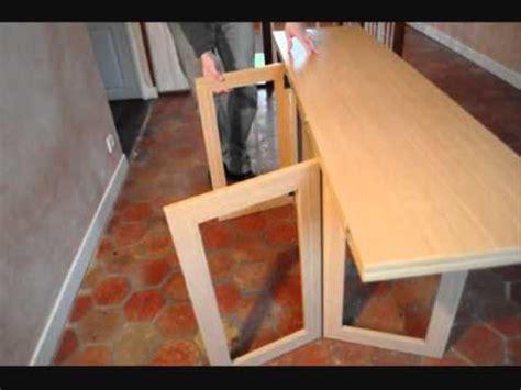 fabriquer chaise en bois console modulo bois naturel