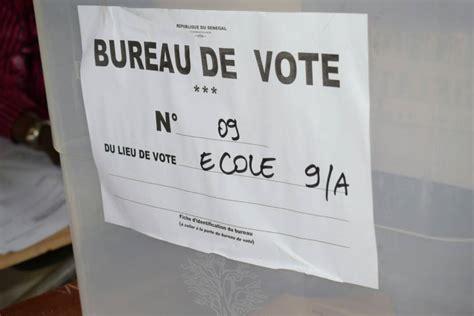 quel bureau de vote pikine bureau de vote n 9 ça sent le roussi