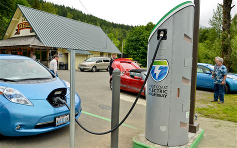 Electric Car Charging Stations by Umtri Paper Compares Advantages And Disadvantages Of Bevs
