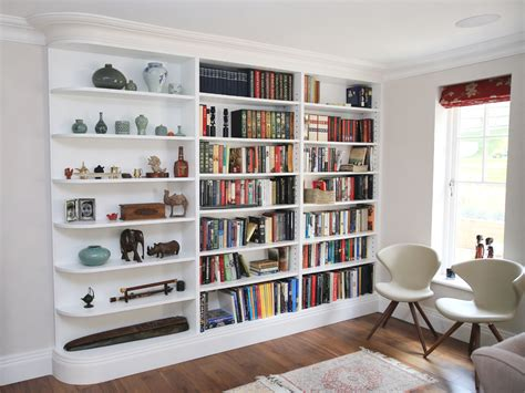 Bookshelves : Custom Alcove Units & Bookcases In Ireland