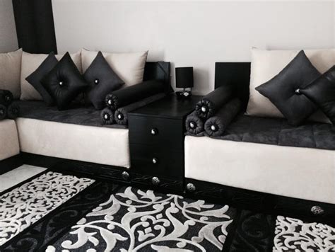 canap 233 et fauteuil pour salon marocain design
