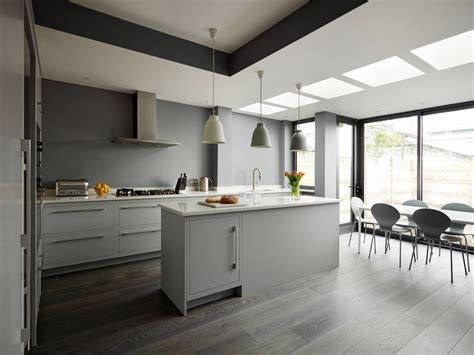 gorgeous grey  white kitchens    mix