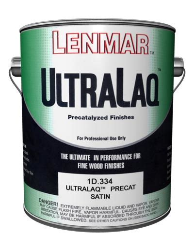 Lenmar? UltraLaq Pre Catalyzed Lacquer 1D.334   Interior