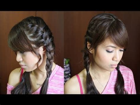 french braid pigtails hairstyle hair tutorial