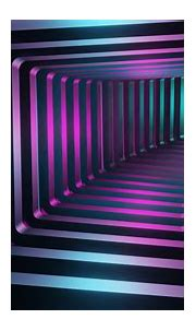 Square 3D Tunnel Wallpaper, HD Abstract 4K Wallpapers ...