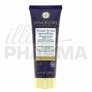 Masque De Nuit : masque de nuit merveilleux 75ml sanoflore ~ Melissatoandfro.com Idées de Décoration