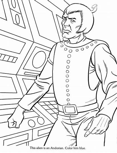 Tas Coloring Startrekanimated Trek Star Created Tescar