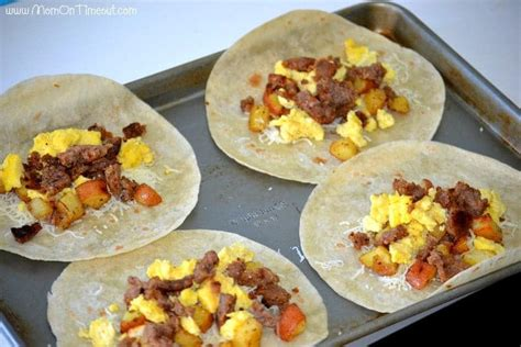how to make a burrito breakfast burrito bonanza a freezer meal idea mom on timeout