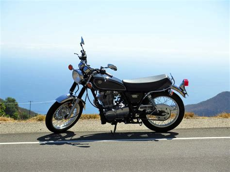 Review Yamaha by 2015 Yamaha Sr400 Ride Review