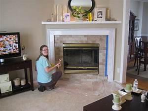Finally Finished Fireplace Gfamilyhouse