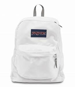 JanSport SuperBreak School Backpack - White - Fantasyard