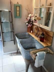 Distressed Bathroom Vanity Diy by Rekonstrukce Venkovsk 233 Koupelny Inspirace A N 225 Pady