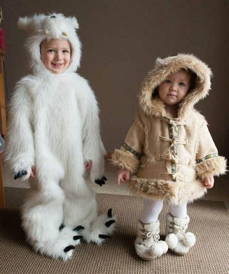 eskimo kostüm kinder eisb 228 r und eskimo kost 252 me f 252 r geschwister zu fasching