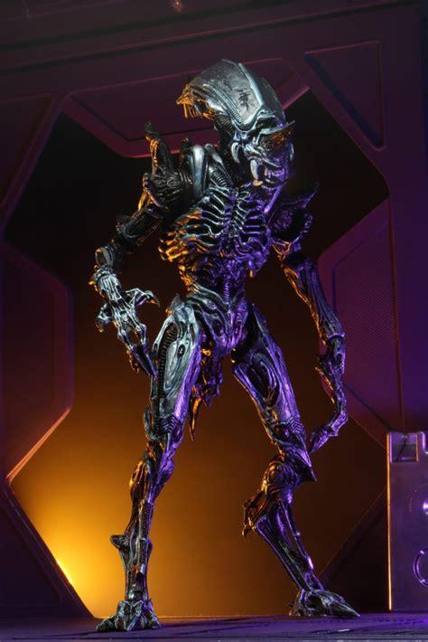 neca unveils  scale action figure ultimate rhino alien