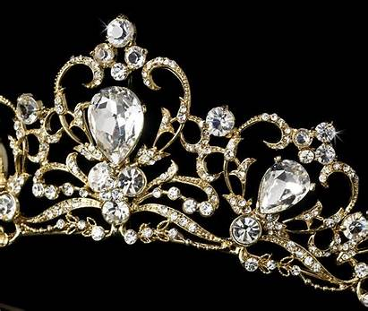 Royal Tiaras Tiara Gold Bold Bridal Couture