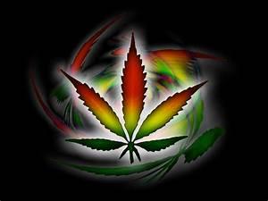 Spinning Smoke Beautiful Color Weed - WeedPad Wallpapers