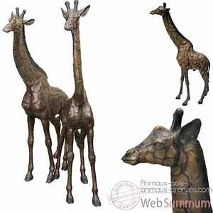 Animaux En Bois Décoration : girafe en bronze brz1159 photos animaux bois animaux bronzes de d coration bronze web summum ~ Teatrodelosmanantiales.com Idées de Décoration