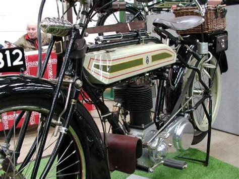 1921 Triumph Model H Classic Motorcycle Pictures