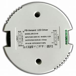 Led Trafo Berechnen : runder led trafo 1 40 watt 12v dc rund netzteil transformator ohne mindestlast ebay ~ Themetempest.com Abrechnung