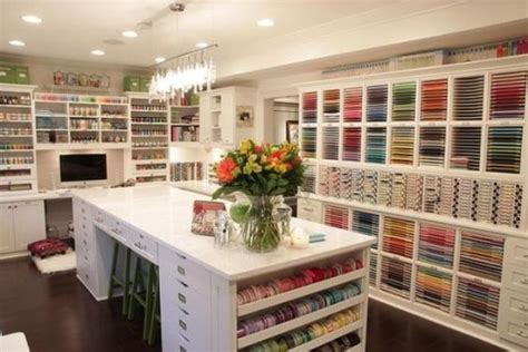 How To Turn Your Old Garage Into A Beautiful Craft Room In