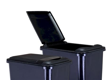 Cabinet Trash Can With Lid by Plastic Lids For Waste Containers All Cabinet Parts
