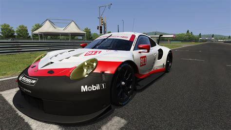 Porsche 911 Rsr 2017 Default Skins 4k