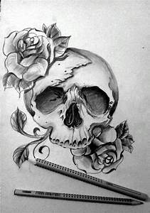 Cool Drawings Of Skulls And Roses - Viewing Gallery ...