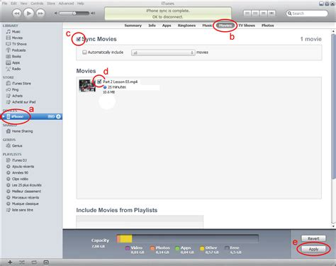 how to transfer lambers review ipod courses to your