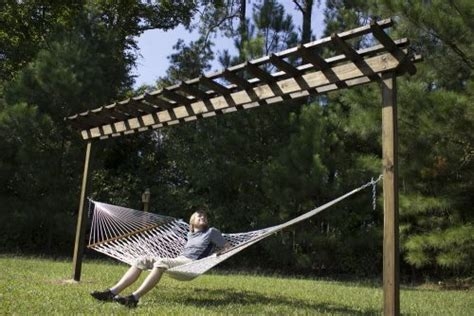 How To Make Your Own Hammock Stand by Build Your Own Hammock Stand The Homestead Survival