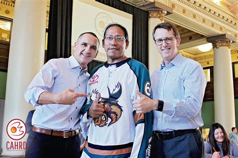 Mark Chipman & Kevin Chief Student Luncheon | CAHRD