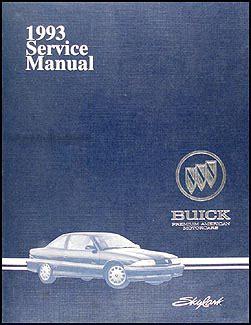 free car manuals to download 1993 buick coachbuilder on board diagnostic system 1993 buick skylark repair shop manual original