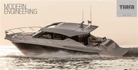 Tiara Boat Construction by Tiara Yachts Naval And Mechanical Industry Tecnav