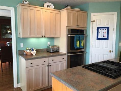 Pickled Oak Cabinets With Backsplash by Help Color Scheme With Pickled Cabinets
